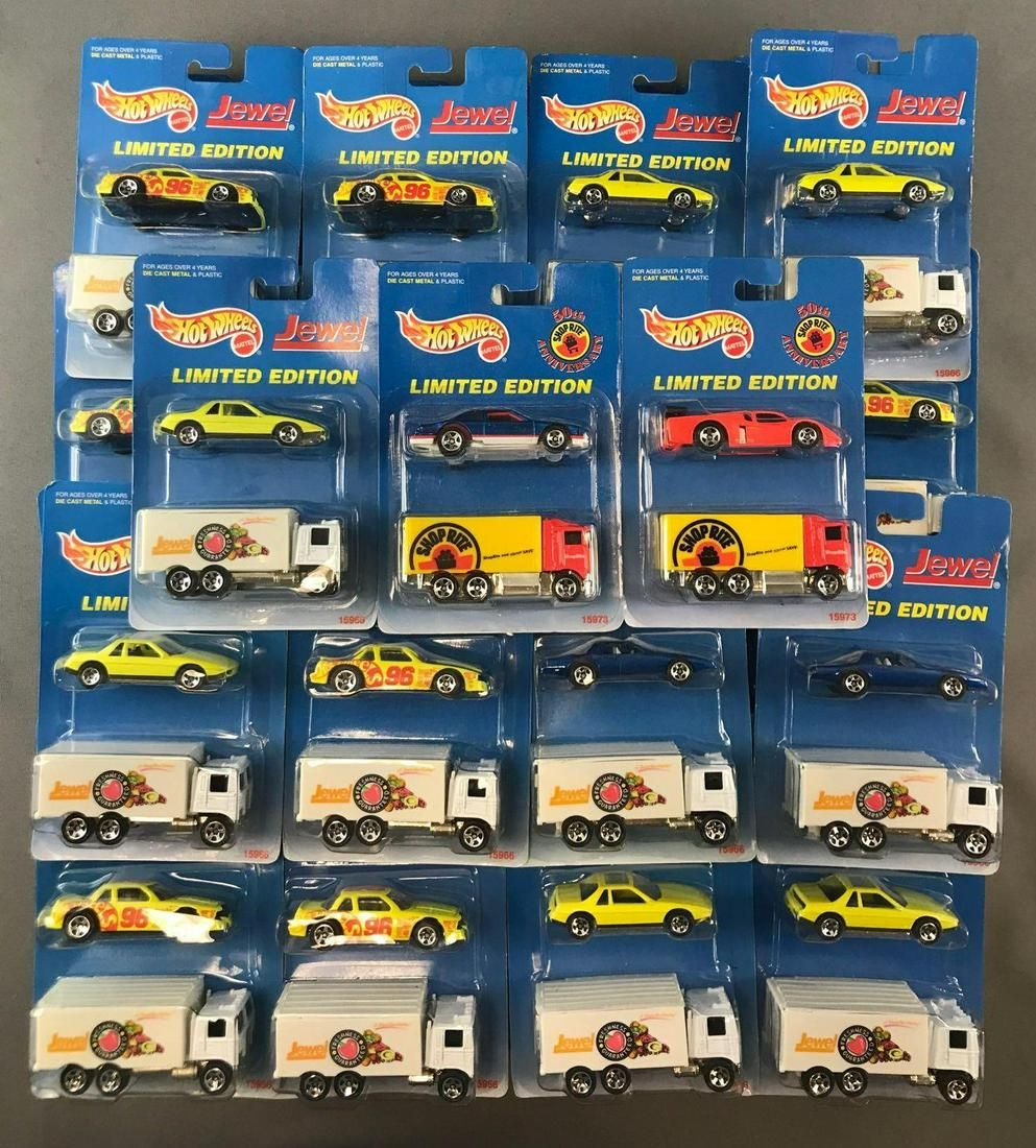 Group of 43 Hot Wheels Limited Edition Die-Cast Vehicle