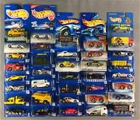 Group of 37 Hot Wheels Die Cast Vehicles in Original