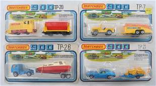Group of 4 Matchbox 900 Die-Cast Vehicle Gift Sets