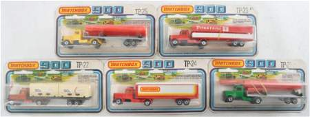 Group of 5 Matchbox 900 Die-Cast Vehicle Gift Sets