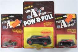 Group of 3 ERTL The A Team DieCast Vehicles in