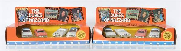 Group of 2 ERTl The Dukes of Hazzards DieCast Vehicle