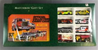 Matchbox Gift Set with Die Cast Vehicles and Carry Case