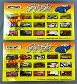 Group of 2 Matchbox Gift Sets In Original Packaging