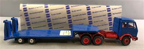 Conrad #3025 Mercedes Flat Bed Die Cast Truck