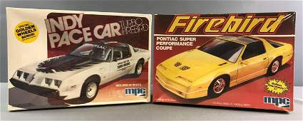 Group of 2 Vintage Scale Model Car Kits sealed in