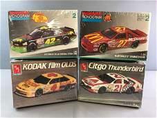 Group of 4 Racing Car Model Car Kits In Original boxes