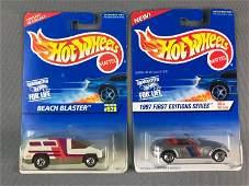 Group of 34 Hot Wheels Vehicles In Original Packaging