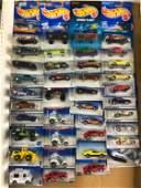Group of 39 Hot Wheels Vehicles In Original Packaging