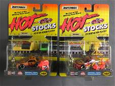 Group of 17 Matchbox Hot Stocks Playsets In Original