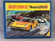 Matchbox SuperFast Deluxe Collector Case Empty