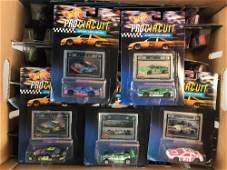 Group of 68 Hot Wheels Pro Circuit DieCast Vehicles in