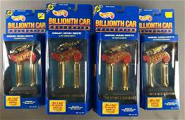 Group of 10 Hot Wheels Billionth Car Collection