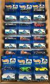 Group of 18 Hot Wheels Albertsons Limited Edition