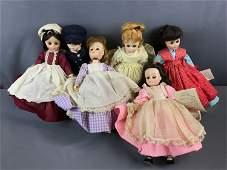 Group of Vintage Madame Alexander Little Women dolls