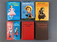 Group of 6 Vintage Shirley Temple Books