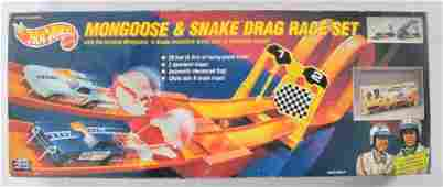 Hot Wheels Mongoose and Snake Drag Race Set with