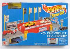 Hot Wheels Sto and Go Chevrolet Dealership in Original