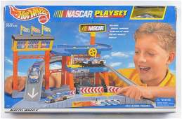 Hot Wheels NASCAR Playset in Original Box