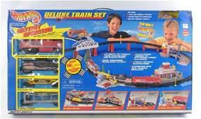 Hot Wheels Deluxe Train Set in Original Box