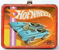 Vintage Thermos Hot Wheels Redlines Lunch Box