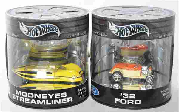 Group of 2 Hot Wheels Limited Edition Die-Cast Vehicles