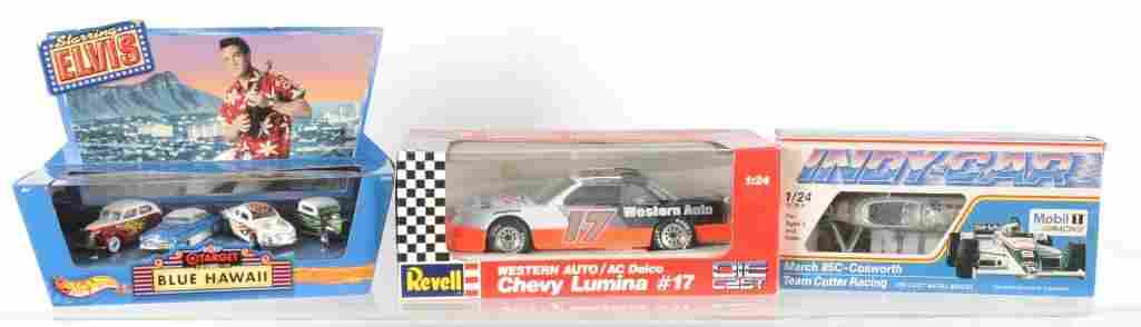Group of 3 Die-Cast Vehicles in Original Packaging