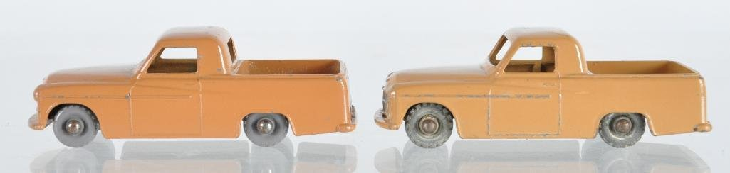 Group of 2 Matchbox No. 50 Commer Pick-Up Die-Cast
