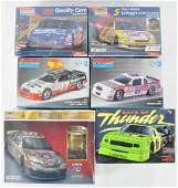 Group of 6 Stock Car Model Kits