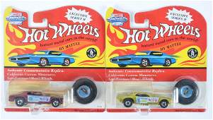 Hot Wheels Vintage Collection Snake and Mongoose