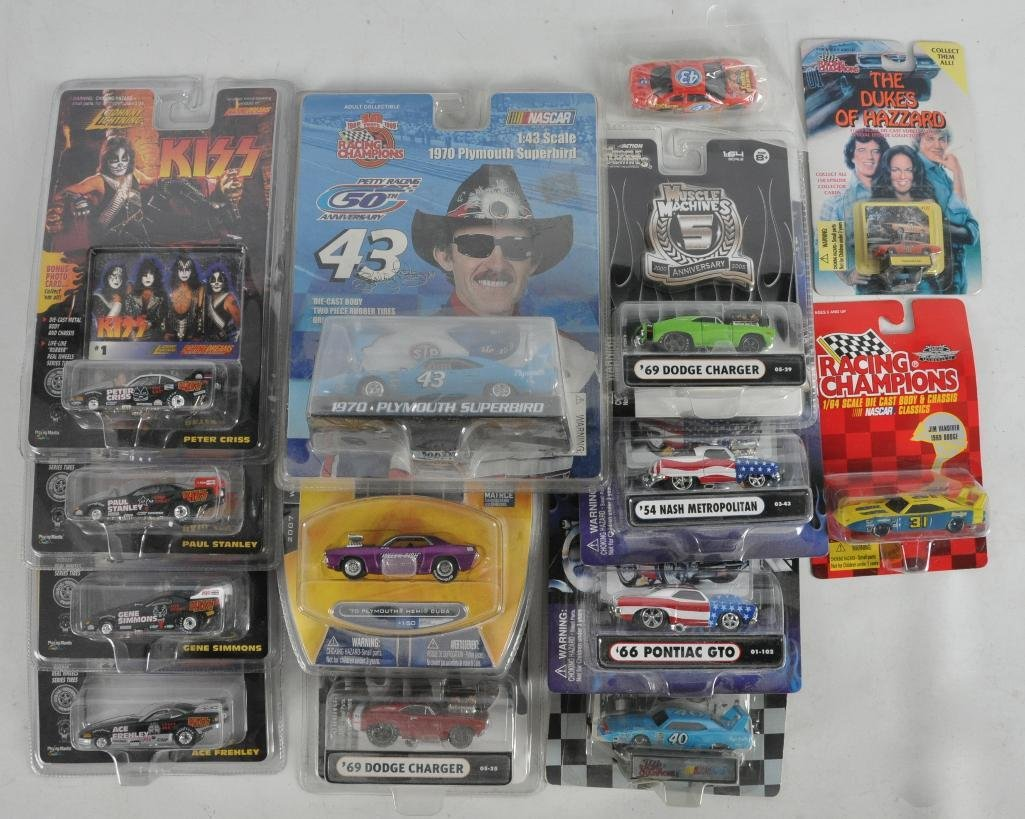 Group of 13 Die-Cast Vehicles in Original Packaging