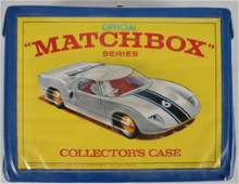 Matchbox Collectors Case with Cars