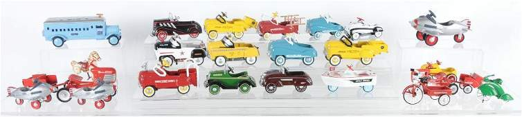 Group of 23 Hallmark Kiddie Car Classic Die-Cast Pedal