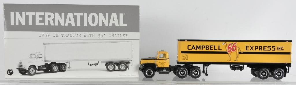 First Gear 1959 International Die-Cast Tractor with 35'