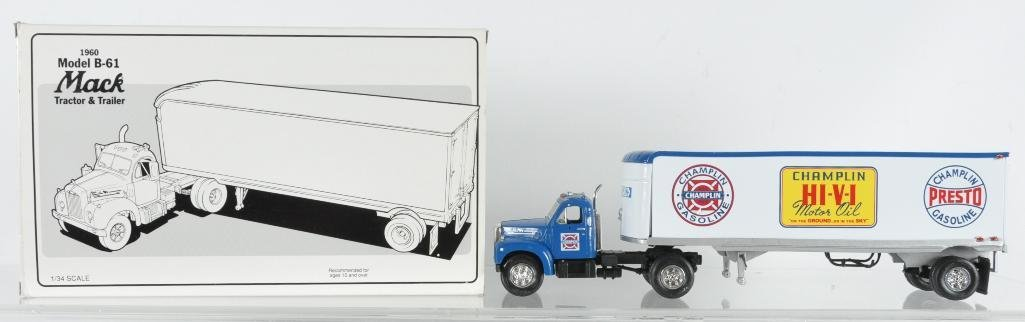 First Gear 1960 Mack Model B-61 Die-Cast Tractor and