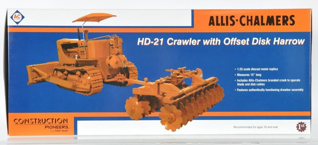 First Gear Allis-Chamlers Die-Cast HD 21 Crawler with