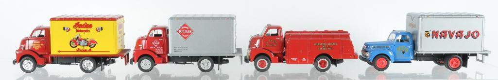 Group of 4 First Gear Die-Cast Vehicles