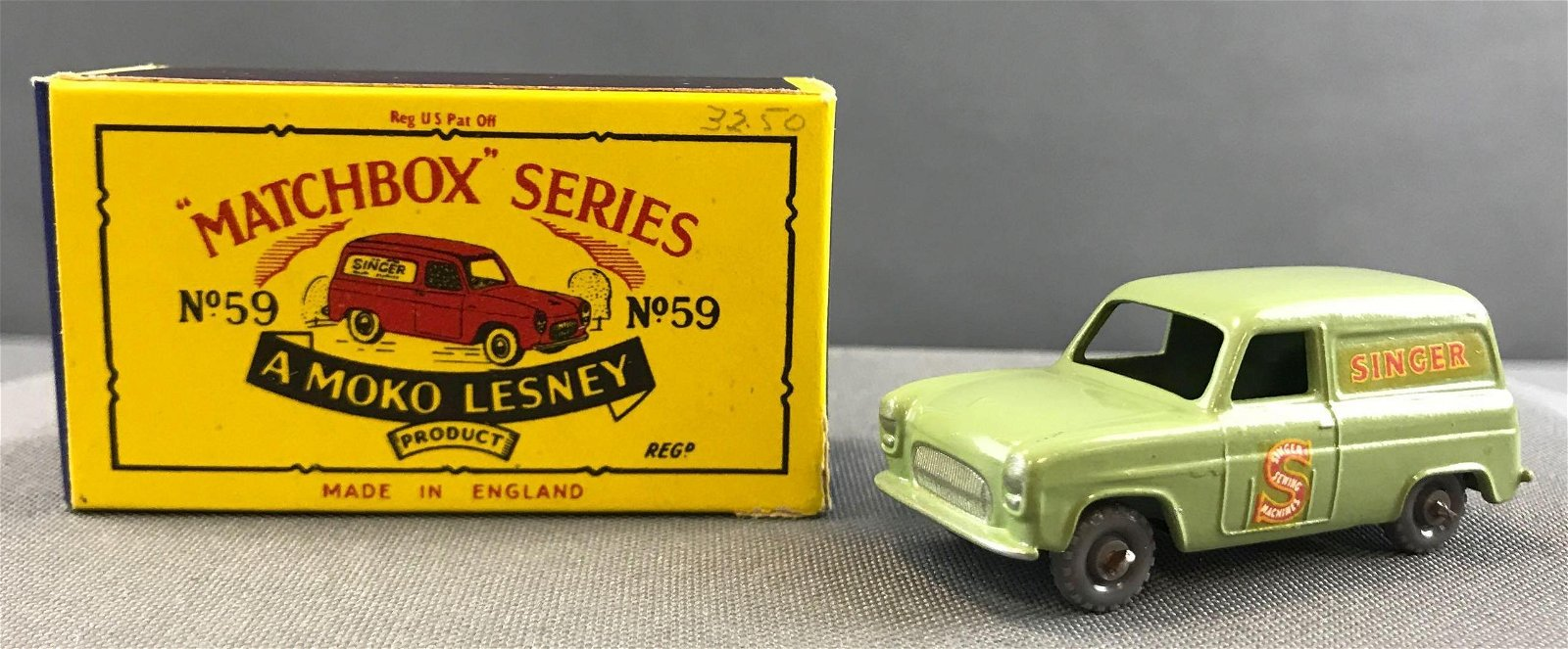 Matchbox No. 59 Ford Thames Van Die Cast Vehicle with