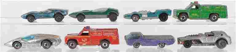 Group of 8 Hot Wheels Redline Die-Cast Vehicles