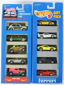 Group of 2 Hot Wheels DieCast Vehicle Gift Packs