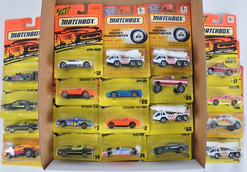Group of 20 Matchbox Die-Cast Vehicles in Original