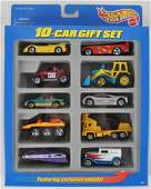 Group of 10 Hot Wheels 10 Car gift Sets