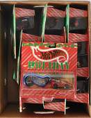 Group of 13 Hot Wheels Holiday Die-Cast Vehicles in