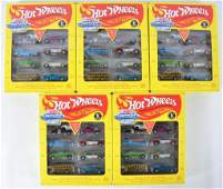 Group of 5 hot Wheels Vintage Collection Gift Packs