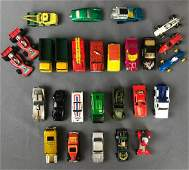 Group of 25 diecast vehicles