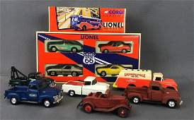Group of 11 die-cast vehicles