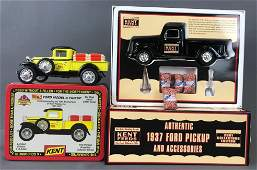 Group of 2 diecast Vehicles in original packaging