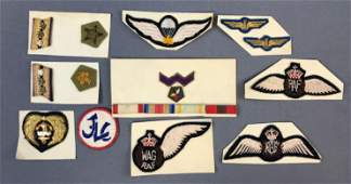 Group of Vintage Military Insignia RAF and others