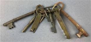 Group of Antique Keys