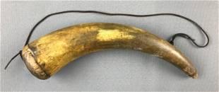 Antique Gunpowder Horn